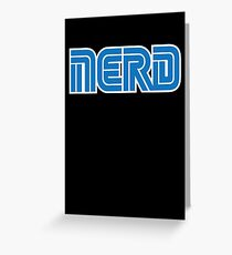 Sega Nerd Greeting Card