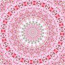 PRETTY PINK BLUME MANDALA von Teresa Chipperfield
