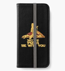 May The Pizza Be With You iPhone Wallet/Case/Skin