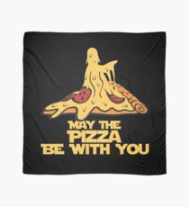 May The Pizza Be With You Scarf