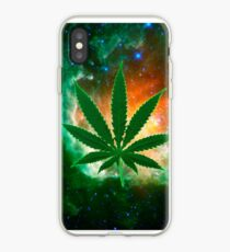 Attack of the Space weed iPhone Case
