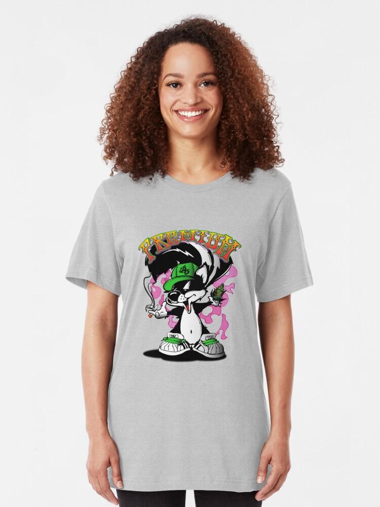Vista alternativa de Camiseta ajustada Skunk Premium Delicioso