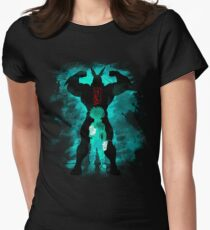 héros T-shirt col V femme