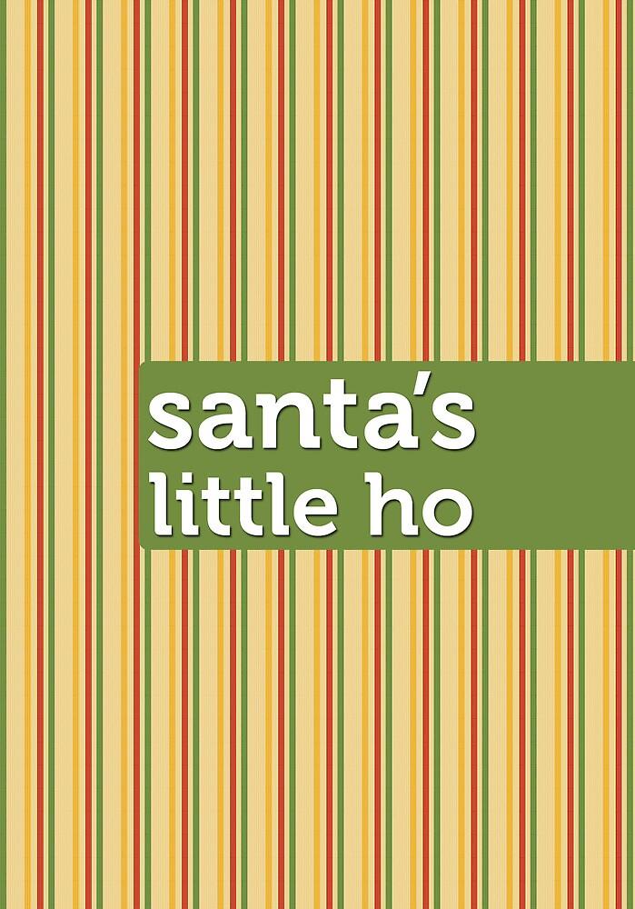 Santa's Little Ho by Faizan Qureshi