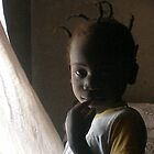 gambian girl in shade by elisabeth tainsh