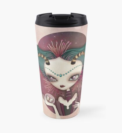 Arielle (Aries) ~ Zodiac Series Travel Mug