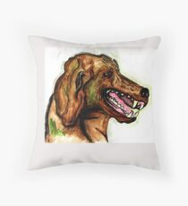 The Hound of the Baskervilles Throw Pillow