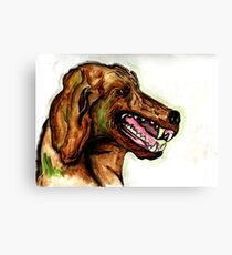 The Hound of the Baskervilles Canvas Print