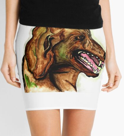 The Hound of the Baskervilles Mini Skirt