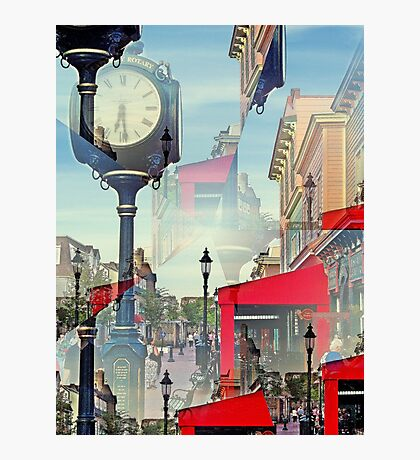 Does anybody  really   know what time  it  is  ?   Photographic Print