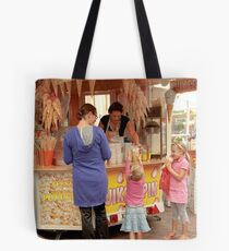 Popcorn for the girls Tote Bag