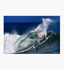 Surfing: Up Close and Personal Photographic Print
