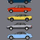 Rover Executive Classic Car Collection by RJWautographics