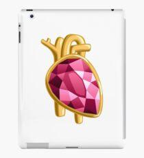 Heart Organ Jewels Jewelry Precious Diamonds Gems Precious Gift iPad Case/Skin