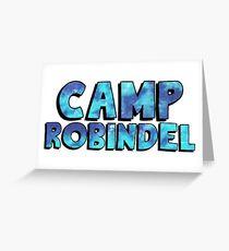 Camp Robindel Tie Dye Greeting Card