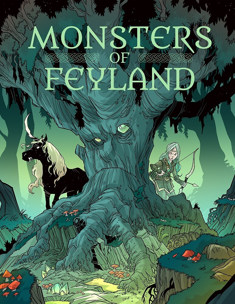 Monsters of Feyland by cawoodpublish