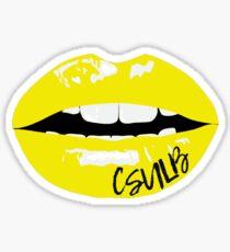 CSULB lips Sticker
