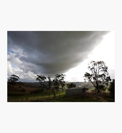 skyscapes #51, big cloud Photographic Print