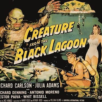 creature from the black lagoon- old poster film by ric1977