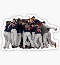 Red Sox World Series  Sticker