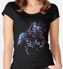 Bwonsamdi Tailliertes Rundhals-Shirt