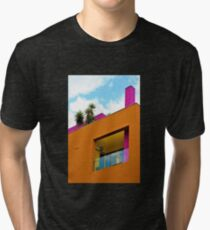 Slanted Orange  Tri-blend T-Shirt