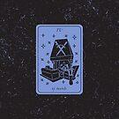 Tarot Card - IV of Swords by Sydney Koffler