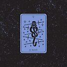 Tarot Card - V of Swords by Sydney Koffler