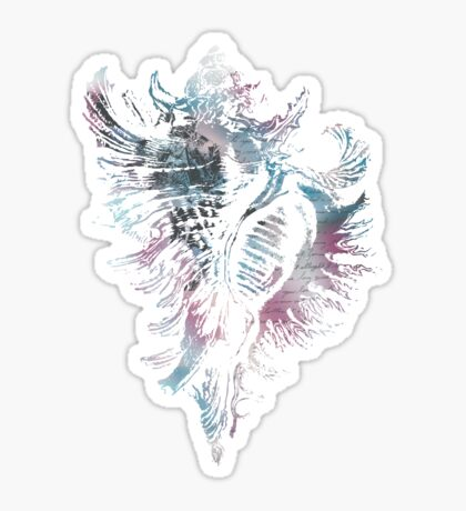 Seashell Elaborated Sticker