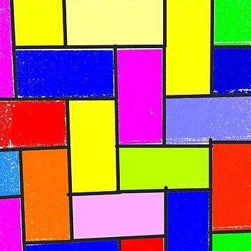 Colorful tiling by DiesIraeKaa
