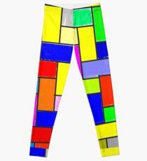Colorful tiling Leggings
