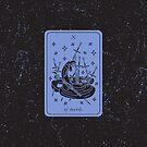 Tarot Card - X of Swords by Sydney Koffler