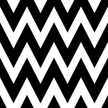 Black & White Chevron Stripes by adametzb