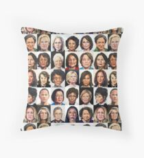 Sheroes 2.0 Throw Pillow