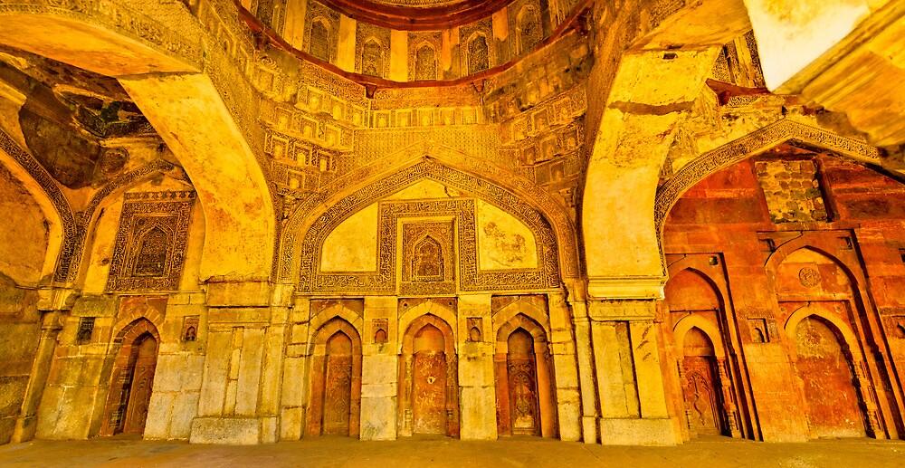North India - Lodhi Gardens - New Delhi 2 by Geoffrey Thomas