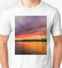 Colorful Sunset in Boston, Ma T-Shirt