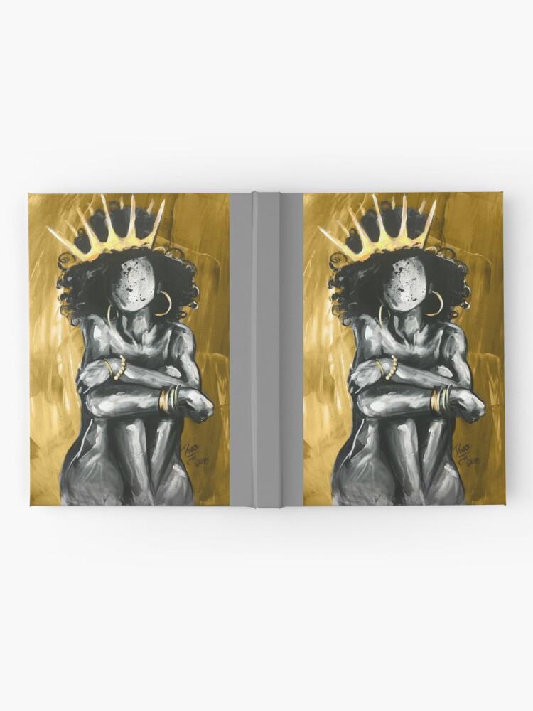 Alternate view of Naturally Queen IX GOLD Hardcover Journal