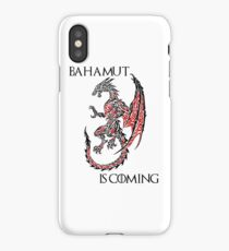 Bahamut Is Coming iPhone Case