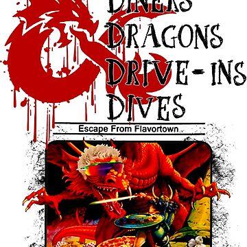 Dungeons & Dragons Stylized black by mekaolivya33