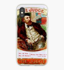 The Judge Vintage Cigars  iPhone Case