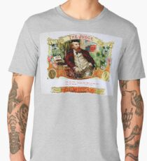 The Judge Vintage Cigars  Men's Premium T-Shirt