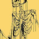 Skeleton 1 (yellow) by LP-D
