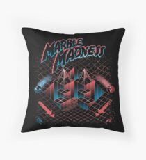 Madness Marbles Throw Pillow