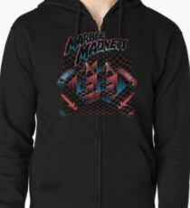 Madness Marbles Zipped Hoodie
