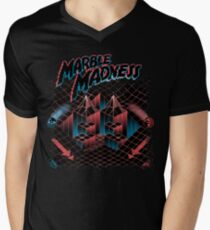 Madness Marbles Men's V-Neck T-Shirt