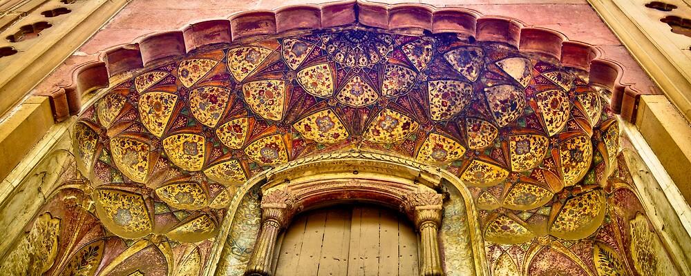 North India - Safdarjung's  tomb - New Delhi by Geoffrey Thomas