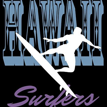 Hawaii Surfers Silhouette by MegaSitioDesign