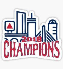 Red Sox 2018 World Series Champions Sticker