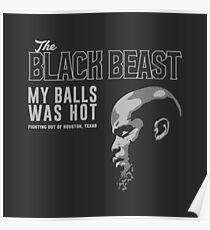 Derrick Lewis My Balls Was Hot Official Poster