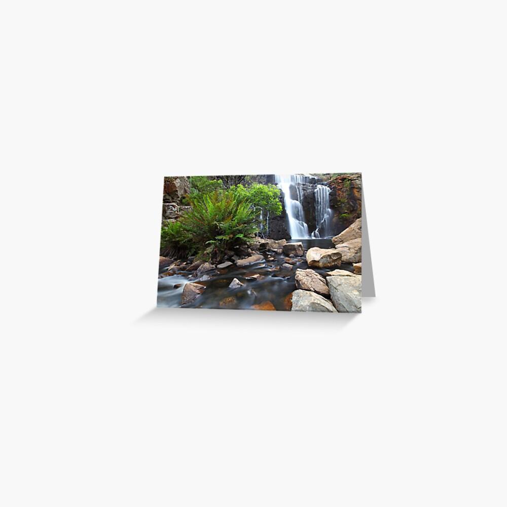 Mc Kenzie Falls, Grampians, Australia Greeting Card